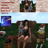 Ventriloquist animated mesh chair-crate