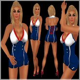 !BH 4th July Outfit ~Dress Blue~
