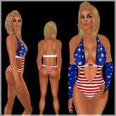 !BH 4th July Outfit ~swimwear &gloves~USA!