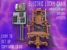 Electric Lucky Chair - PERFECT HALLOWEEN GIFT