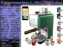 Espresso Machine C-Mix S6CMV5.x (Boxed)