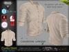 Corito Beige Male Mens  Shirt Top - Mesh - TMP, Adam, Slink, Signature, AESTHETIC , Belleza Jake - FashionNatic