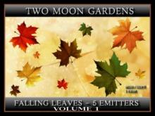 FALLING LEAVES - VOLUME 1 - 5 EMITTERS*