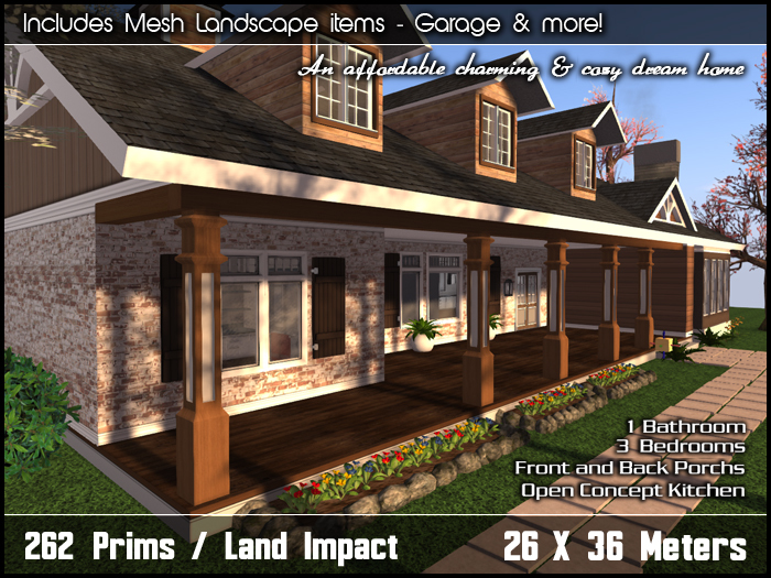 Fairview Ranch Home v1.0 (Package)
