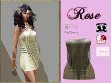 LR-Rose dress Champagne (sac)