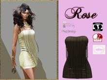 LR-Rose dress Nude (sac)
