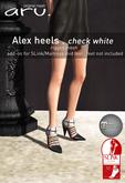 aru. Alex heels *check white*