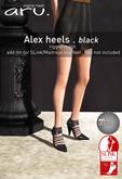 aru. Alex heels *fatpack*
