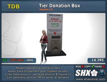 [SHX-TDB-Tier Donation Box]