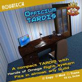 Officium TARDIS - Hands of Omega (HoO) Console