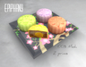 Snow Skin Mooncakes  - Cherry Blossom (Animated)
