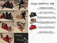 Luxury Duo Sofa Adult + pg