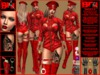 **MANYA RED VERSION POLICE STYLE THEME COSTUME**