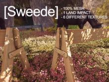 [Sweede] Wooden Barrier 100% Mesh