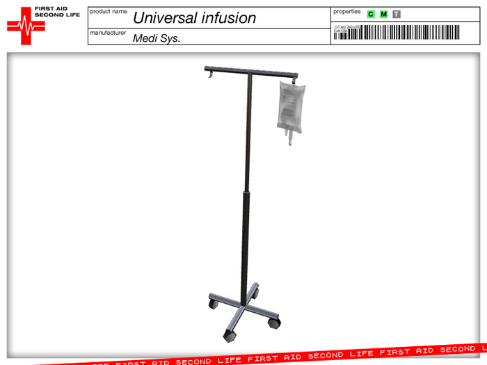 IV Infusion UNIVERSAL with catheter