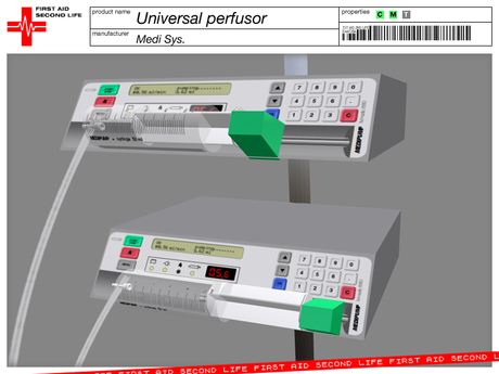 Perfusor UNIVERSAL with catheter