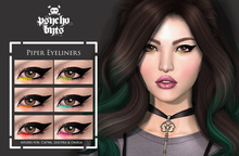 .{PSYCHO:Byts}. Piper Eyeliners Pack