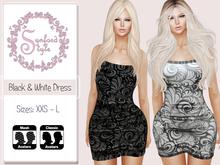SS* Black & White Dress {Add / Wear}