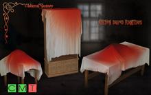 [MF] Mesh bloody draped kitchen furnitures SET (boxed)
