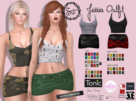 SS* Jessica Outfit ADD/WEAR
