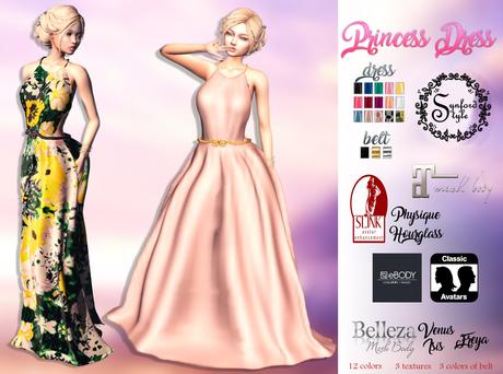 SS* Princess Dress {Add / Wear}