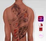 TSB ::: Tattoo samurai warrior