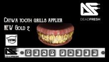 [DF] Catwa Grills New  Gold 2