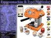 Espresso Machine R-Type S6RT2V5.1 (Boxed)