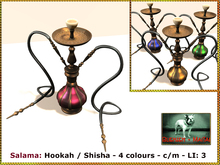 Bliensen + MaiTai - Salama - Hookah / Shisha - 4 colours