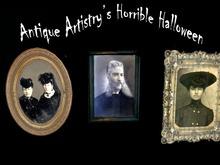 HALLOWEEN DOLLARBIES - 3 Animated Portraits
