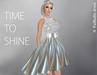 FaiRodis holografic mesh dress Shining galaxy5 pack
