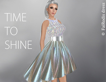 FaiRodis holografic mesh dress Shining galaxy5 DEMO