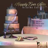 *PAN* Happily Ever After - Wedding Cake Set