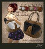 S@BBiA::Ribbon Straw bag
