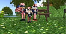 4 th of july toy solders