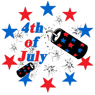 happy fourth of july  gesture