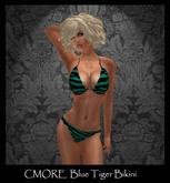 CMORE - Blue Tiger Bikini Dollarbie