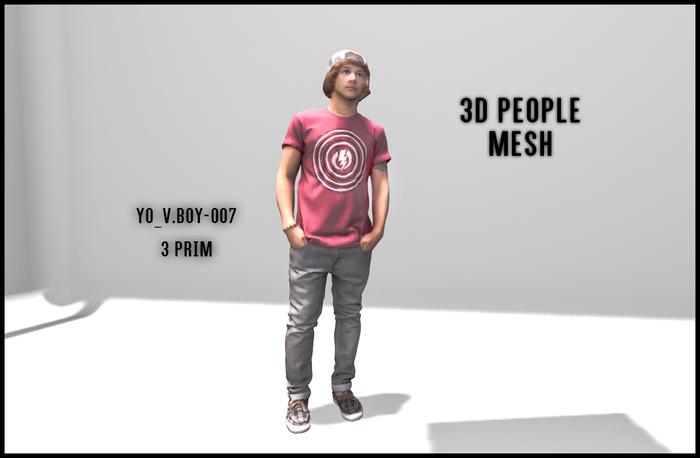 MESH PEOPLE -YO_V.boy-007 -