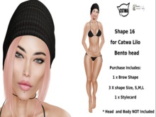Shape 16 for LILO Catwa Bento Mesh Head