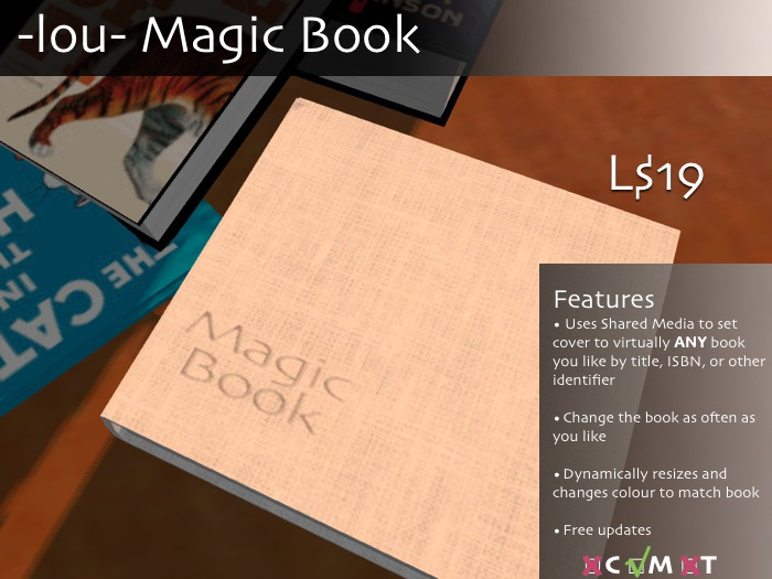 -lou- Magic Book