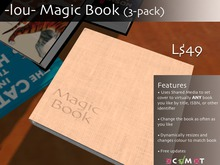 -lou- Magic Book Three Pack