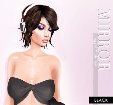 MIRROR - Gina Hair -Black Pack-
