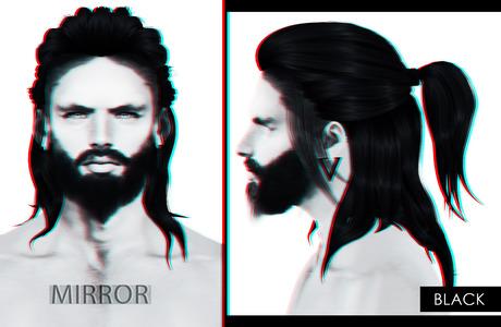 MIRROR - Rex Hair -Black Pack-