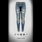 RAPTURE -Jeans Renee-Faded-[Add me]