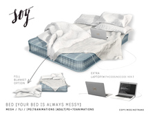 Soy. Bed [Your Bed Is Always Messy] - PG (addme)