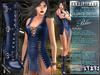 Bella Moda: Chetare Blue Dress & Boots Outfit: Maitreya/Classic/Physique/Hourglass/Isis/Venus/Freya+Std