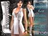 Bella Moda: Chetare Ivory Dress & Boots Outfit: Maitreya/Classic/Physique/Hourglass/Isis/Venus/Freya+Std