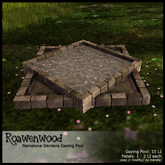 {RW} Nemetona Gardens Gazing Pool Set