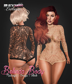 BLACKHAUS - Belinda Body Black w/ appliers SLINK, MAITREYA, OMEGA
