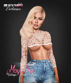 BLACKHAUS - Maya Top Nude  w/ appliers SLINK, MAITREYA, OMEGA